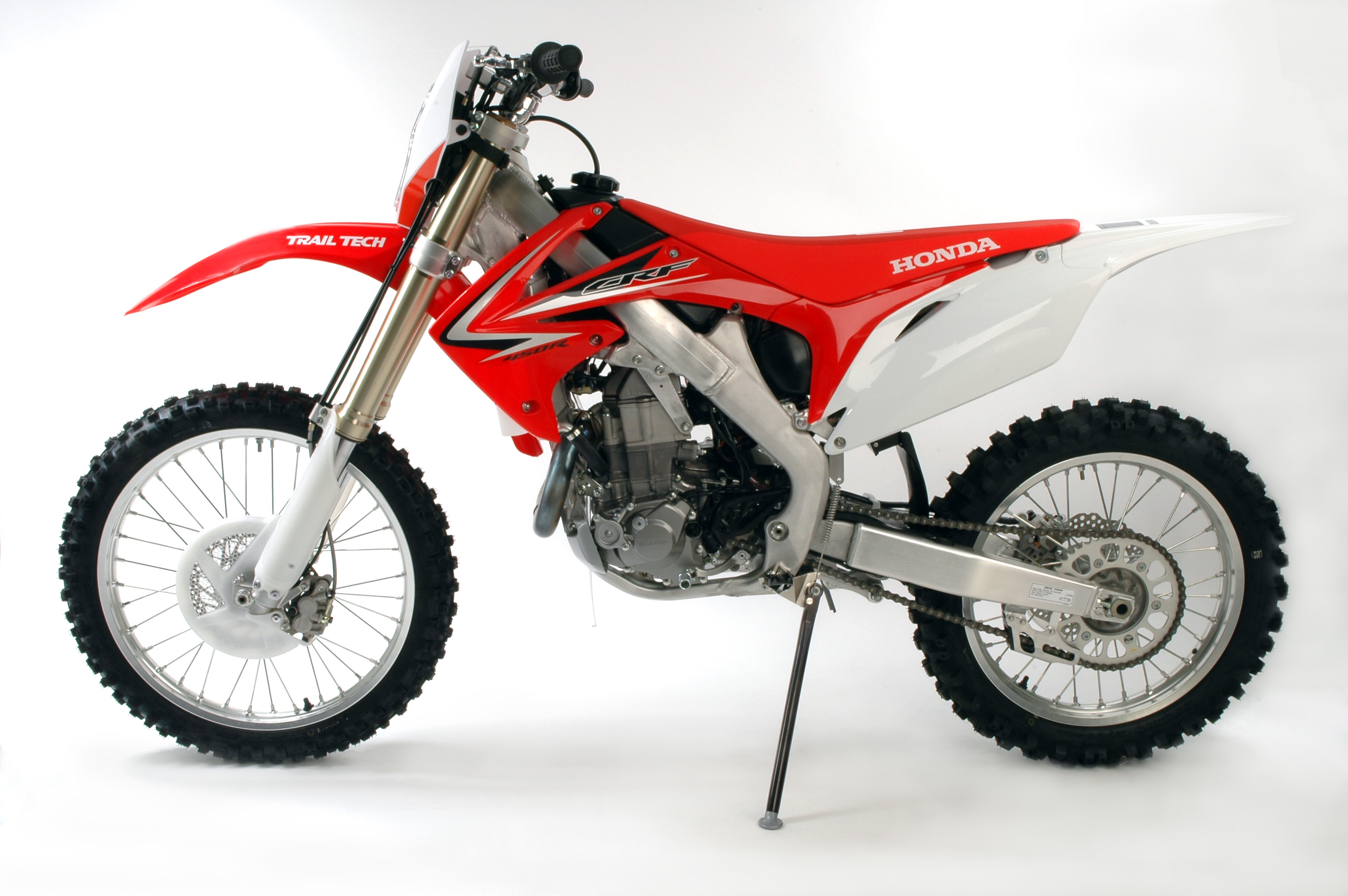 Photo :: 2009 CRF450R Fullshot